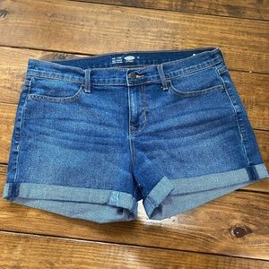 Old Navy semi-fitted denim shorts